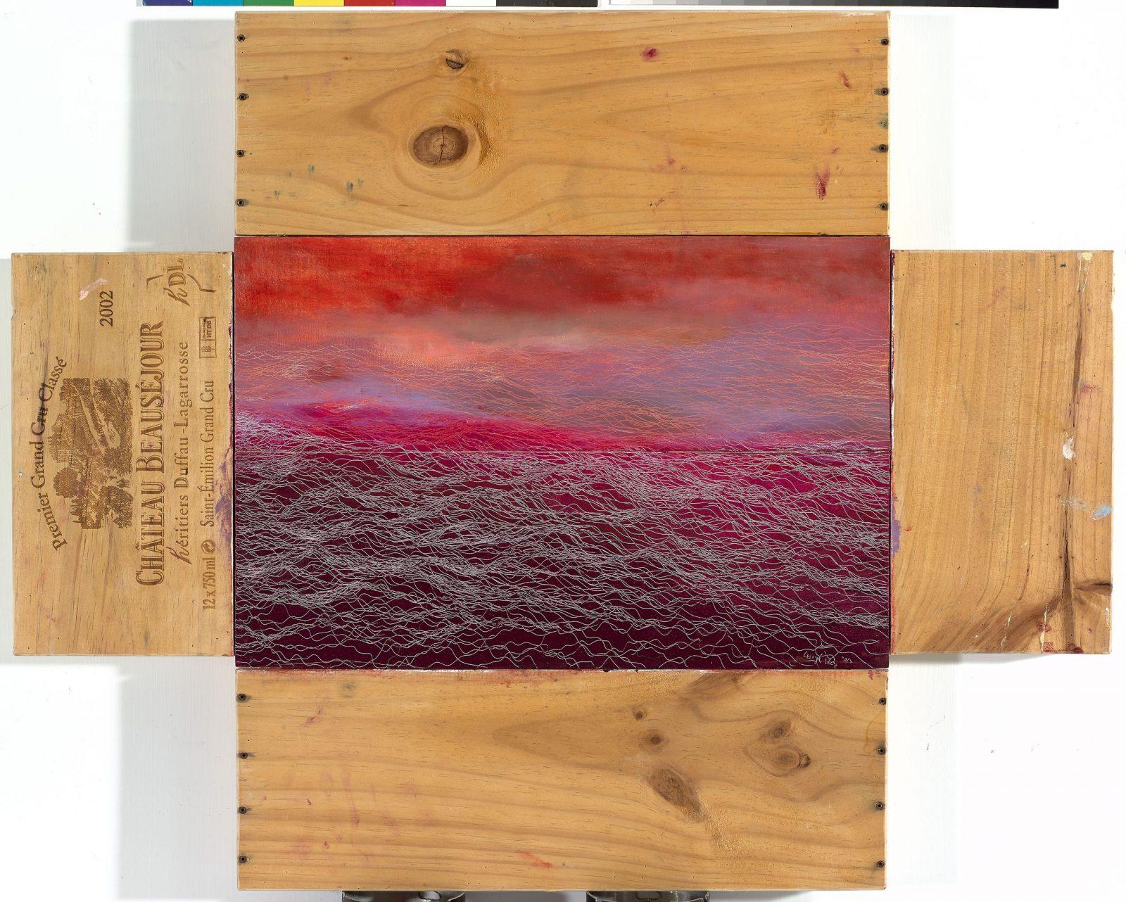 引徑-20, Side Track-20, 32.5 x 50 cm, mixed media, 2015