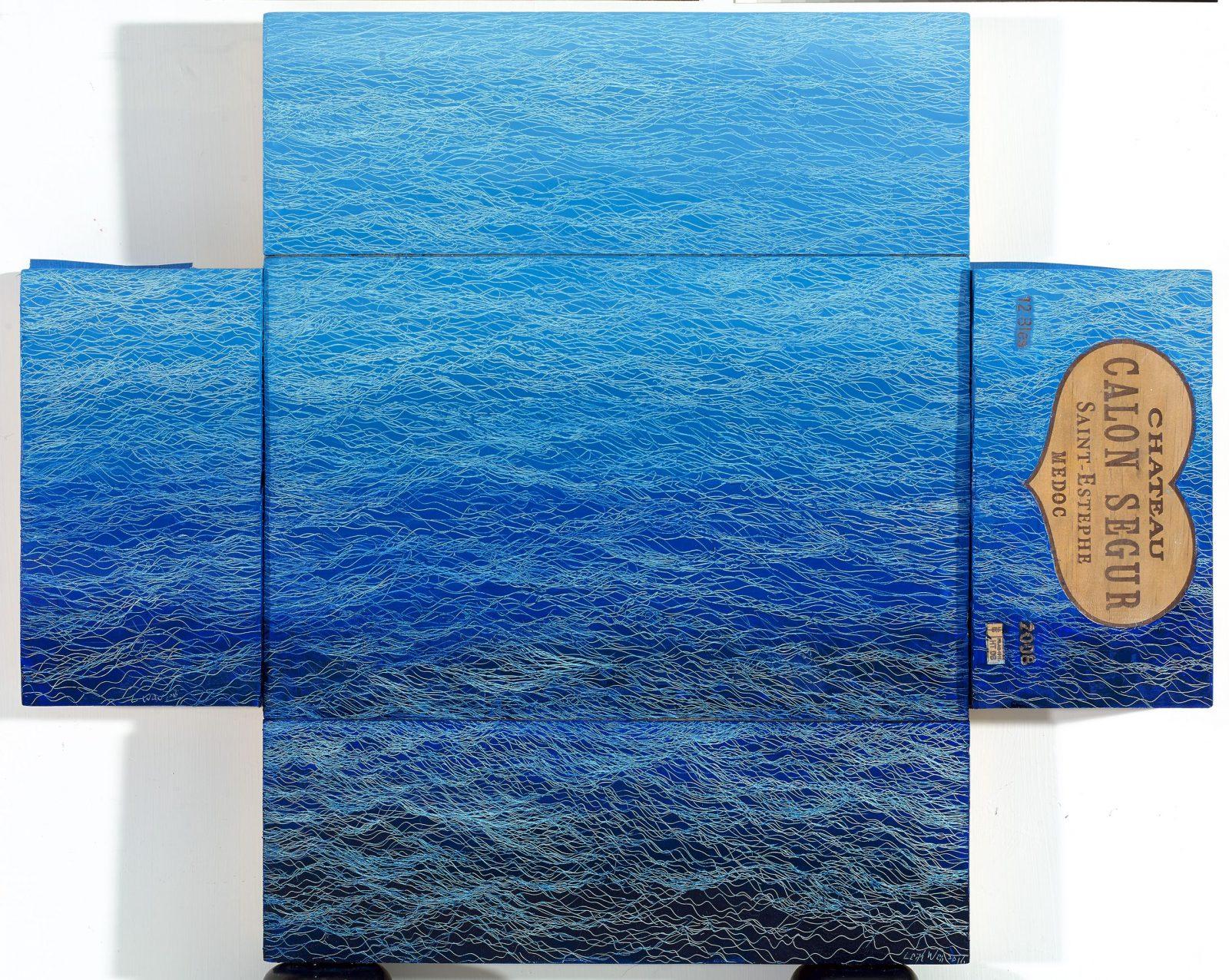引徑-29, Side Track-29, 67 x 84 cm, mixed media, 2016