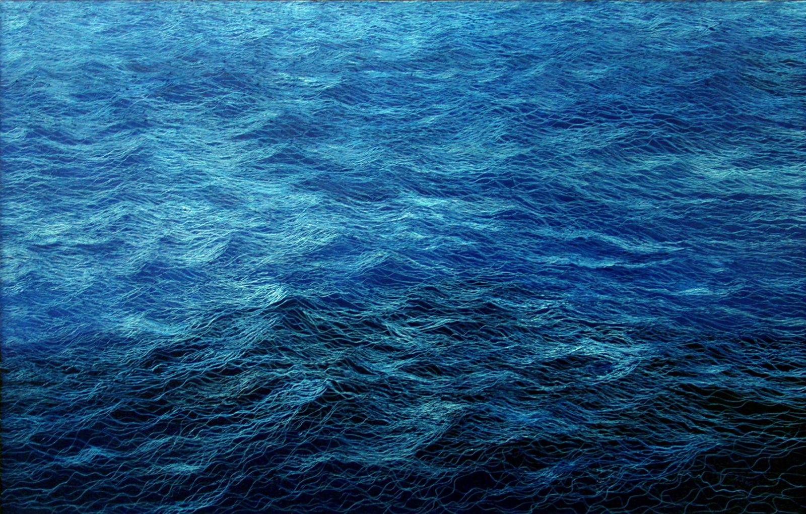Night Water #12, 28 x 44, 2007