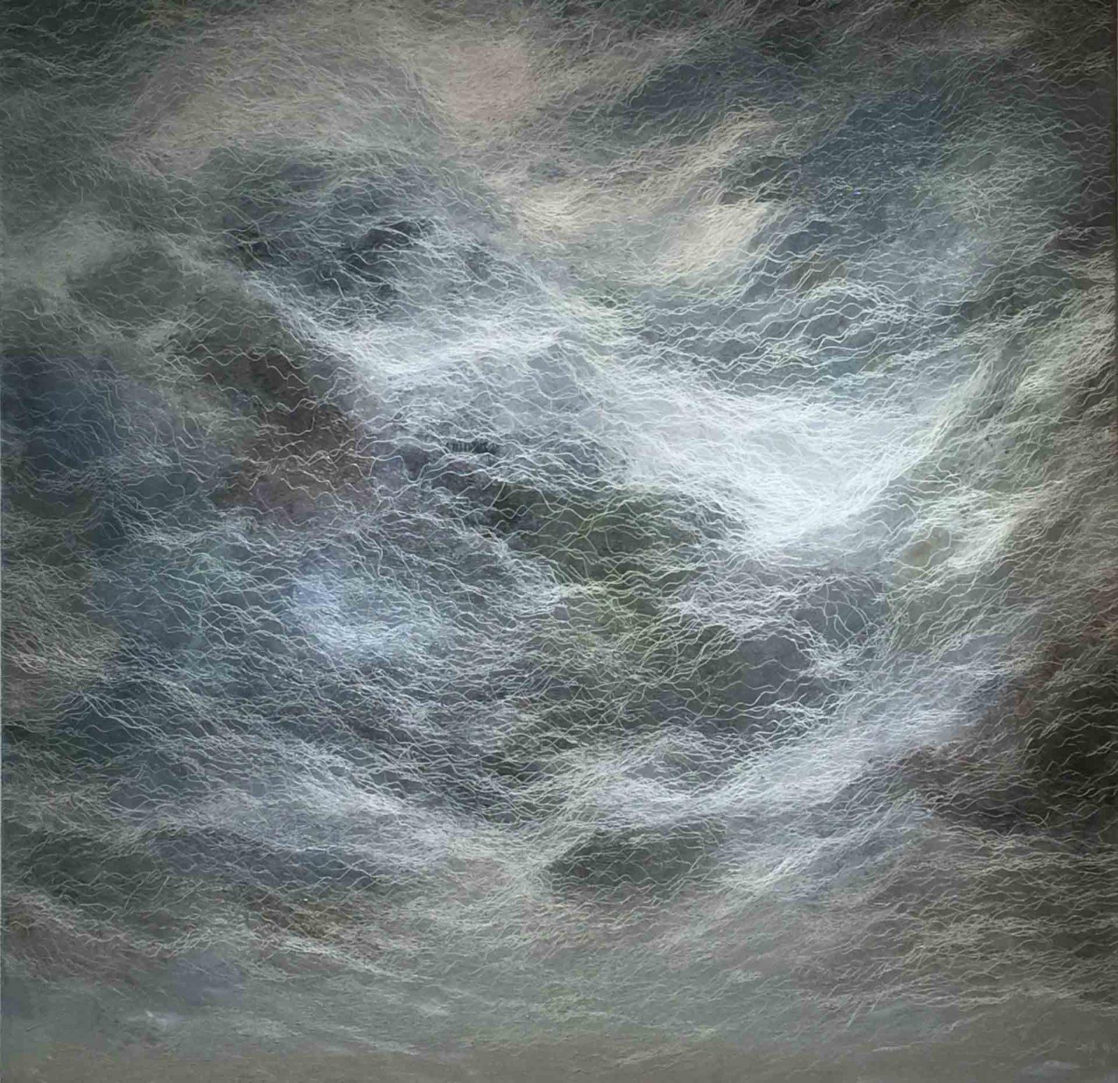 Odyssey III, 52 x 52, oil on canvas, 2016
