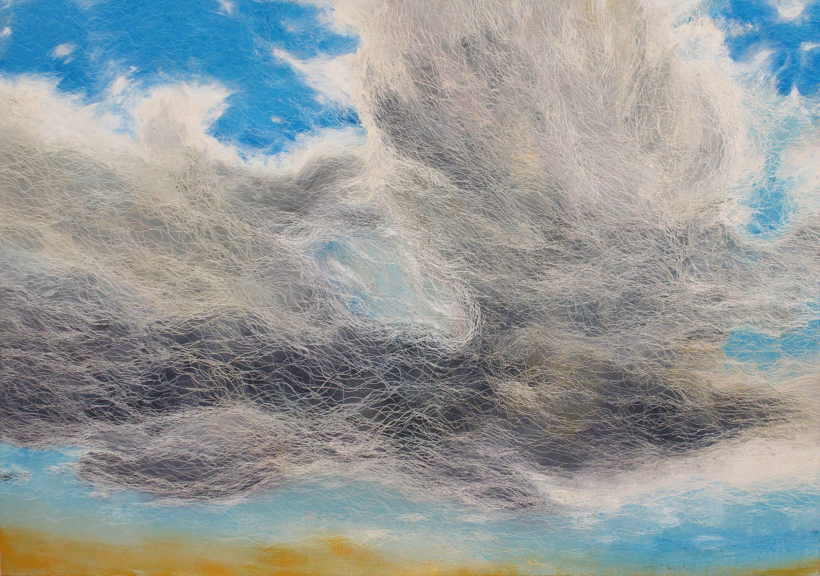 Persian Flight, 42 x 60, oil on canvas, 2013