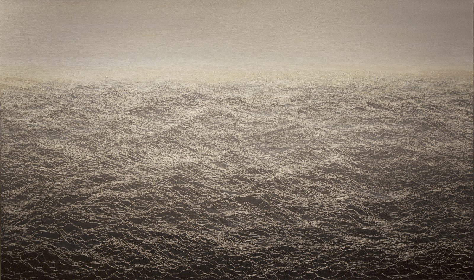 無題 N-8, Untitled N-8, 92 x 153 cm, oil on linen, 2012